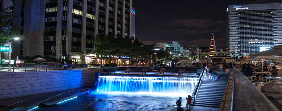 Balade nocturne à Séoul