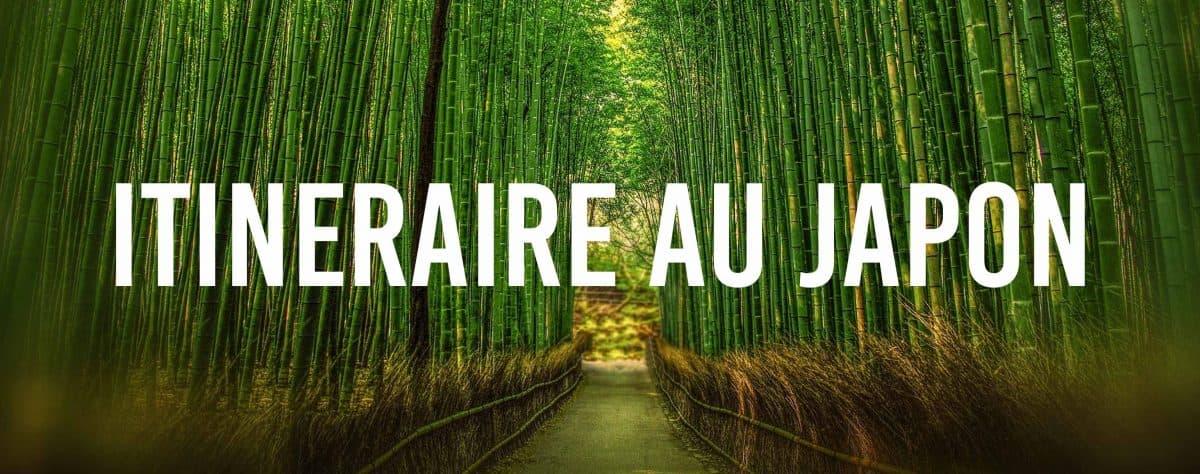 Itinéraire au Japon pour 3 semaines